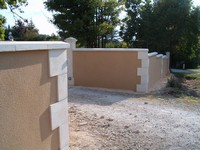 corner stones and coping